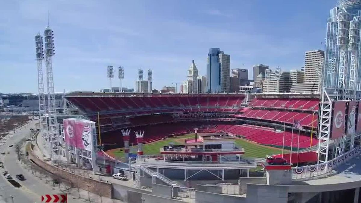 Some Reds fans could watch games from Great American Ball Park this season if a proposal by the...