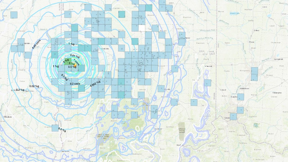 An earthquake in eastern Indiana could be felt in the Tri-State, according to the USGS.