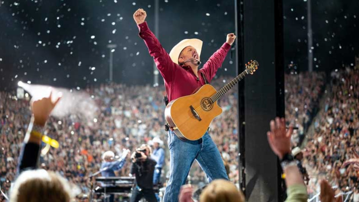 Encore Live presents Garth Brooks A Drive-In Concert Experience will take place June 27.
