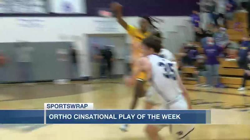 OrthoCinsational Play of the Week: Elder's David Larkin with a buzzer beating block