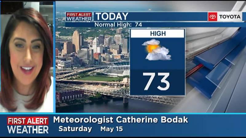 Catherine's Saturday Forecast