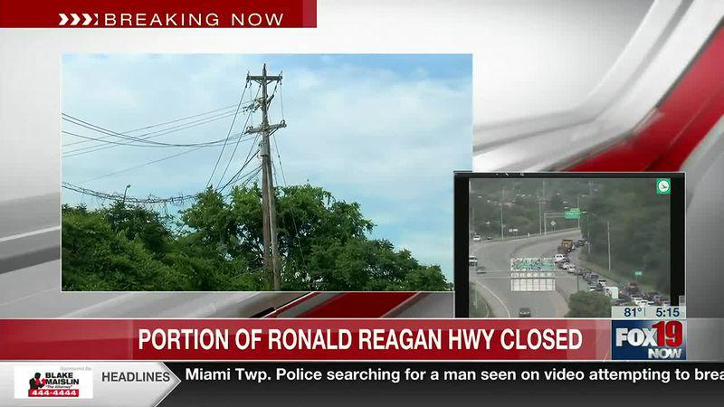 Part of Ronald Reagan Highway closed till midnight