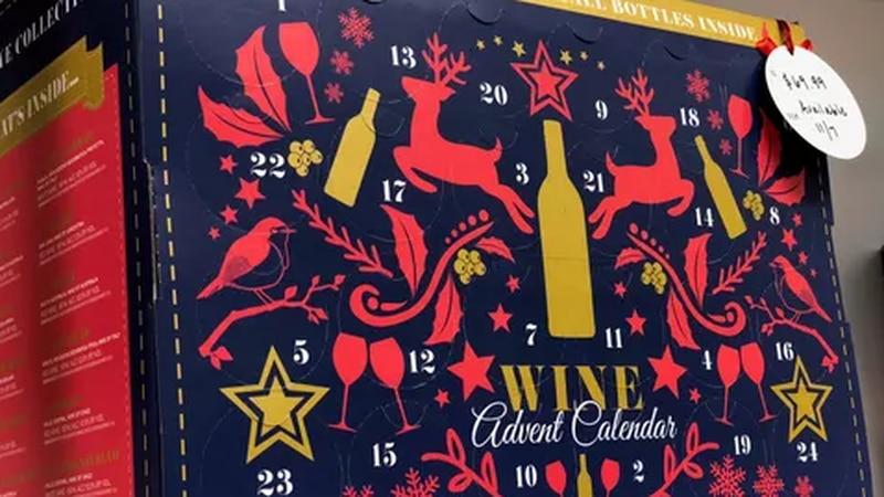 Aldi's wine advent calendar (Source: USA Today)