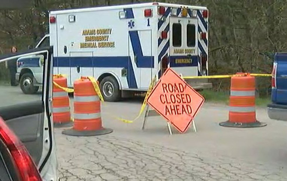 Officials have blocked off most of Union Hill Road where the family members live. (FOX19 NOW)