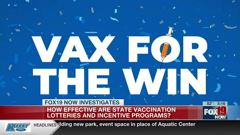 Looking at the effectiveness of Vax-a-Million