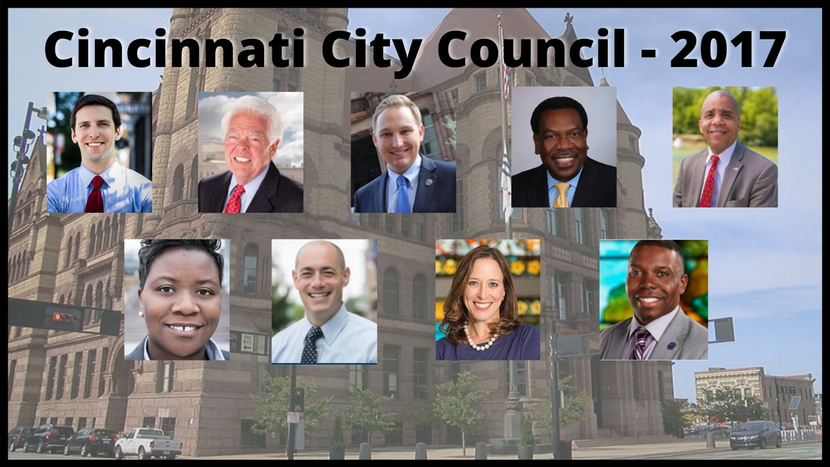 Only one Cincinnati city council member from the class of 2017 would be an incumbent in the...