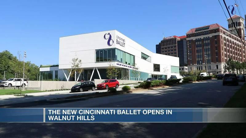 New Cincinnati Ballet opens in Walnut Hills