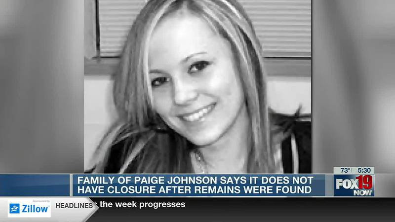 Family of Paige Johnson still awaiting closure, justice as somber anniversary nears