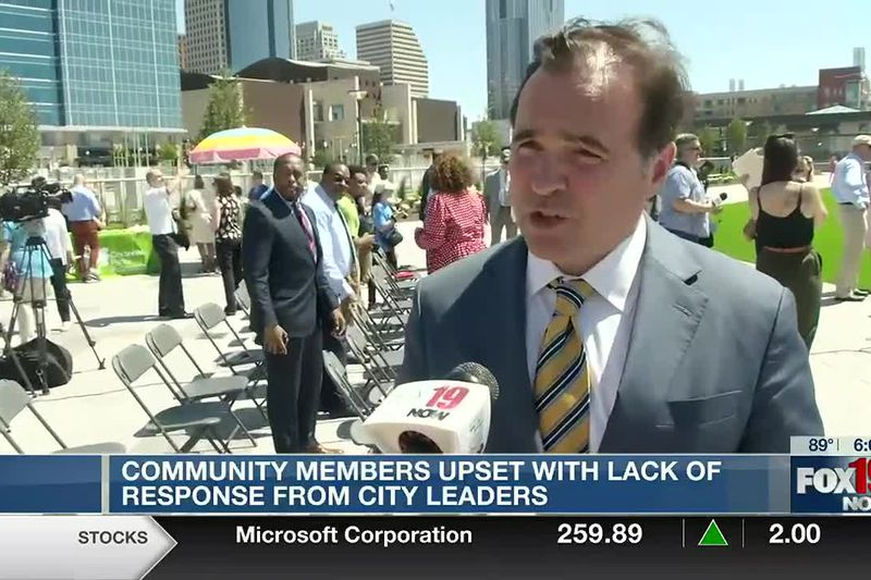 Community members upset with lack of response from city leaders