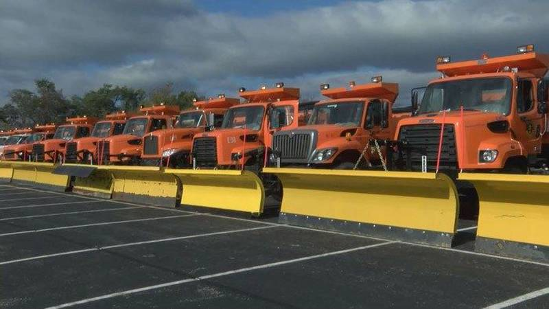 Metro Louisville has more than 160 pieces of snow-fighting equipment. (Source: Rick Miller/WAVE...