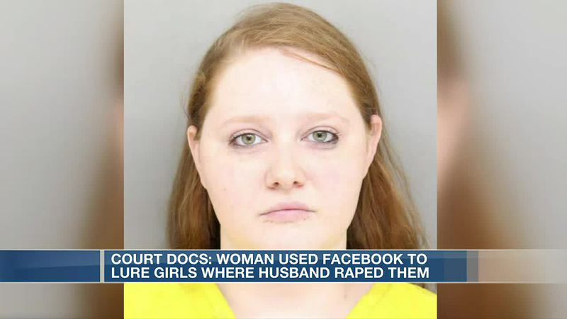 Court docs: Woman used Facebook to lure girls where husband raped them