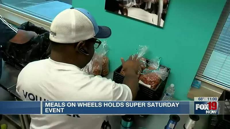 Meals on Wheels hosts Super Saturday