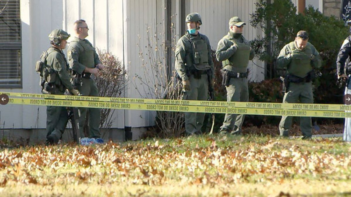 An officer shot a barricaded suspect in Batesville, IN Monday, Sgt. Stephen Wheeles said.