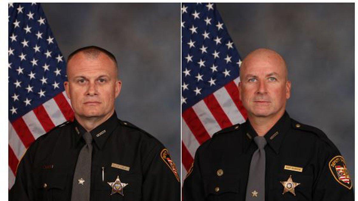 Left: Clermont County Deputy Sheriff Nick DeRose Right: Clermont County Deputy Sheriff Bill...