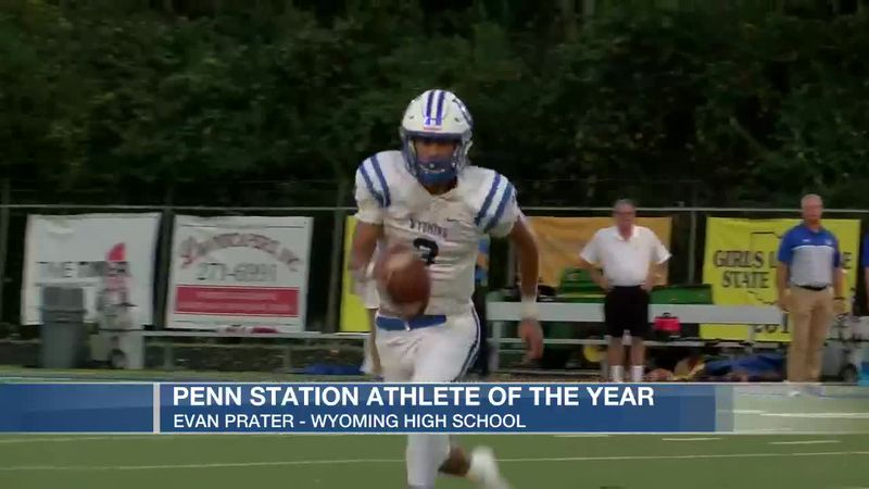 Penn State Athlete of the Year: Evan Prater of Wyoming High School