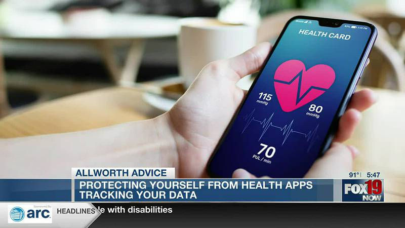 Allworth Advice: Protecting yourself from health apps tracking data