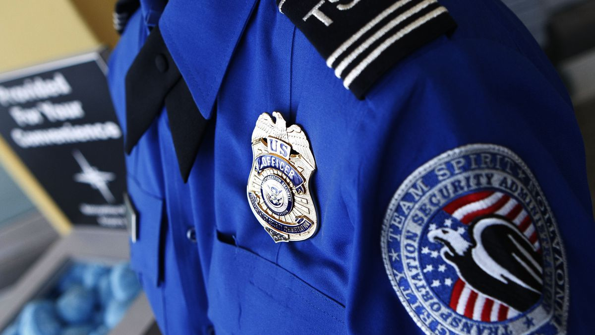 TSA agent, file photo