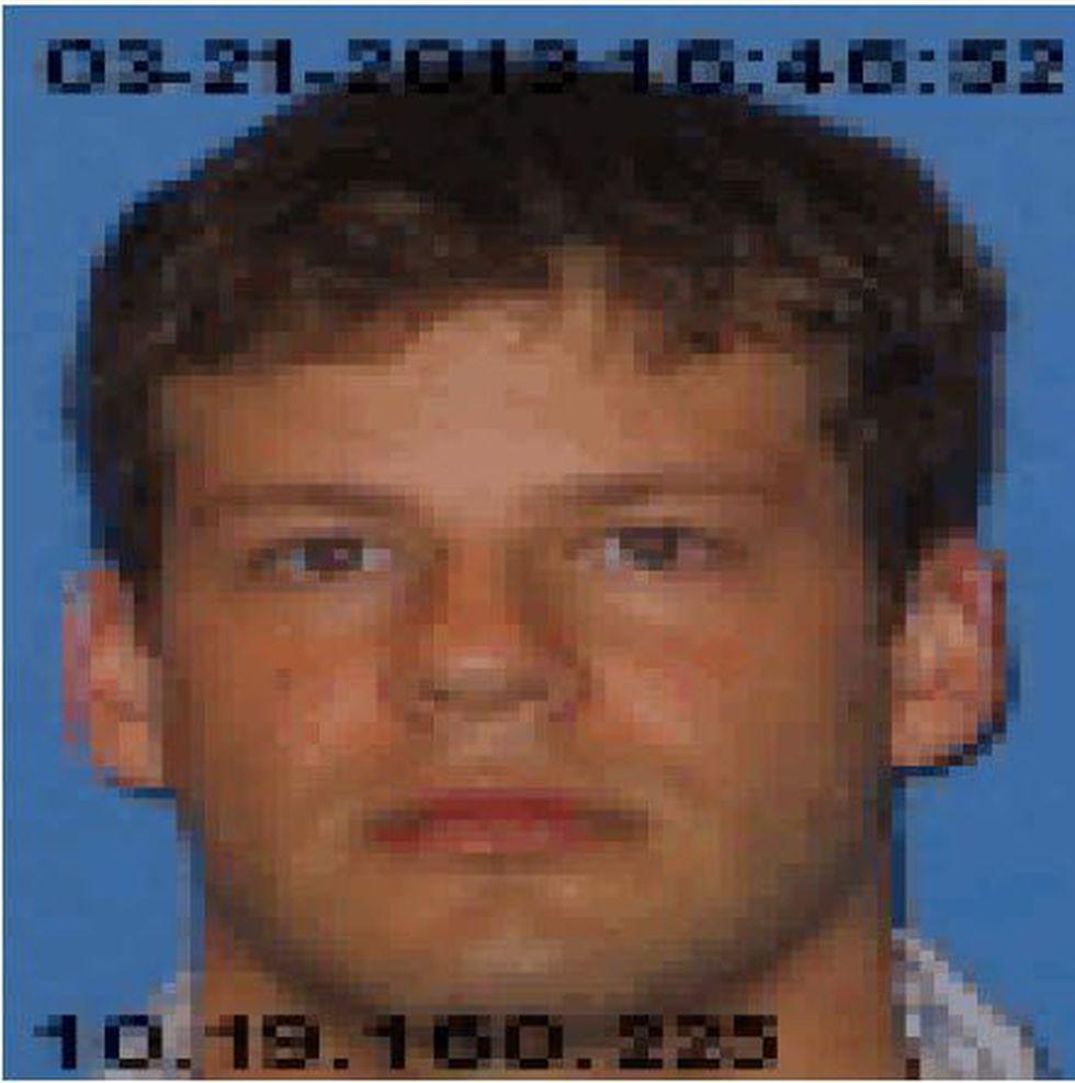 David Callahan, photo from police report