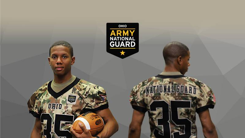 Ohio Army National Guard jersey