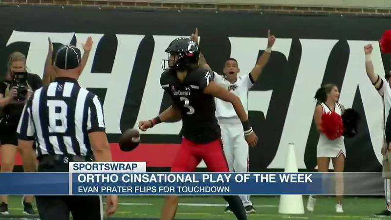 OrthoCinsational Play of the Week: Evan Prater flips for touchdown