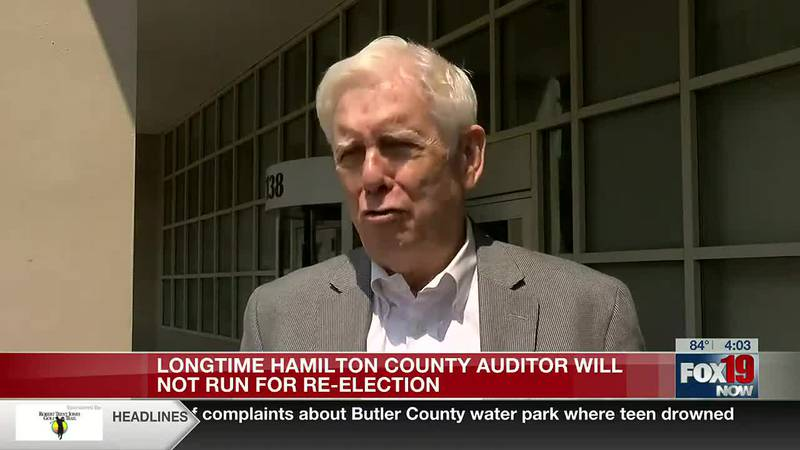 Hamilton County Auditor Dusty Rhodes not running for re-election