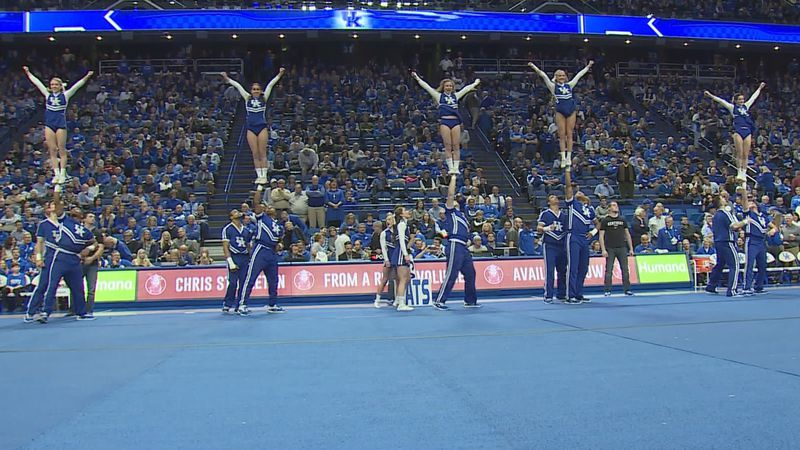 The University of Kentucky has fired it cheerleading head coach and his three assistants...