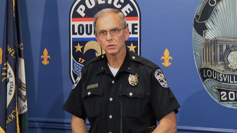 LMPD Chief Steve Conrad announced his plans to retire in an email to his officers on May 21.