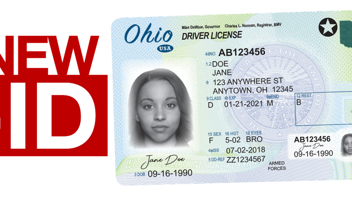By Oct. of 2020 you will need a REAL ID from to fly in the U.S.