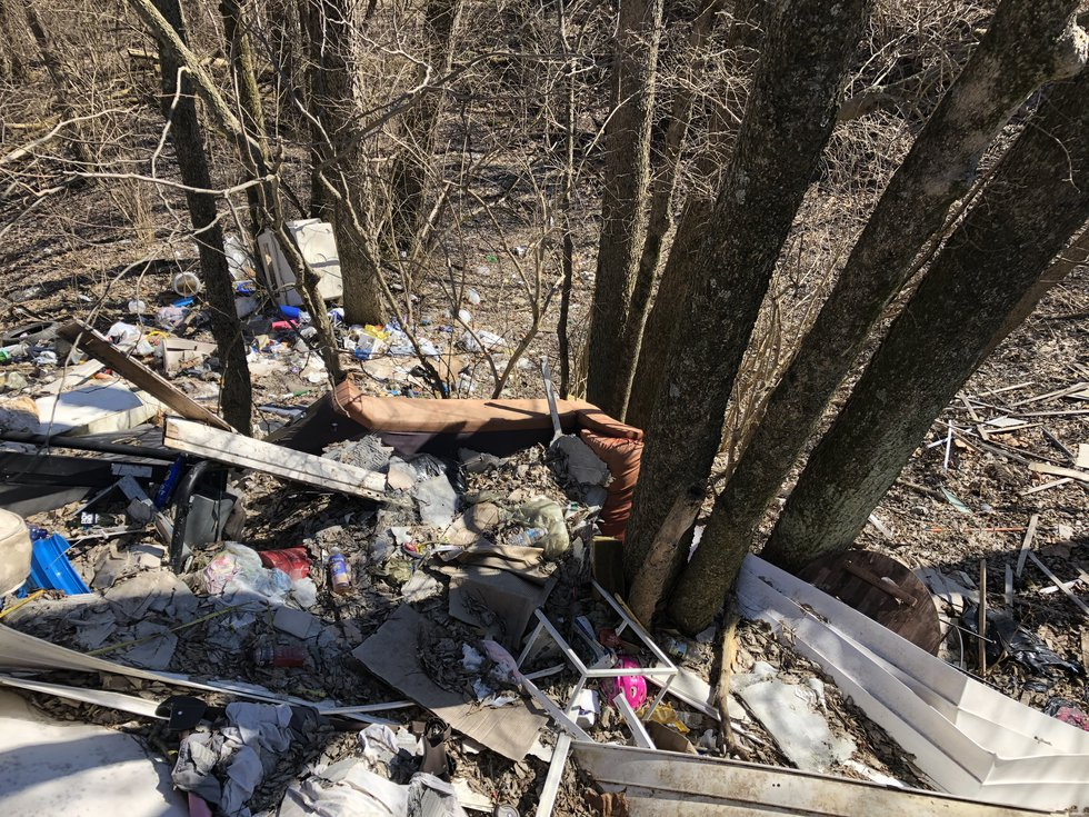 Illegal dumping across Cincinnati cost the city $2.4 million dollars in clean up in 2019