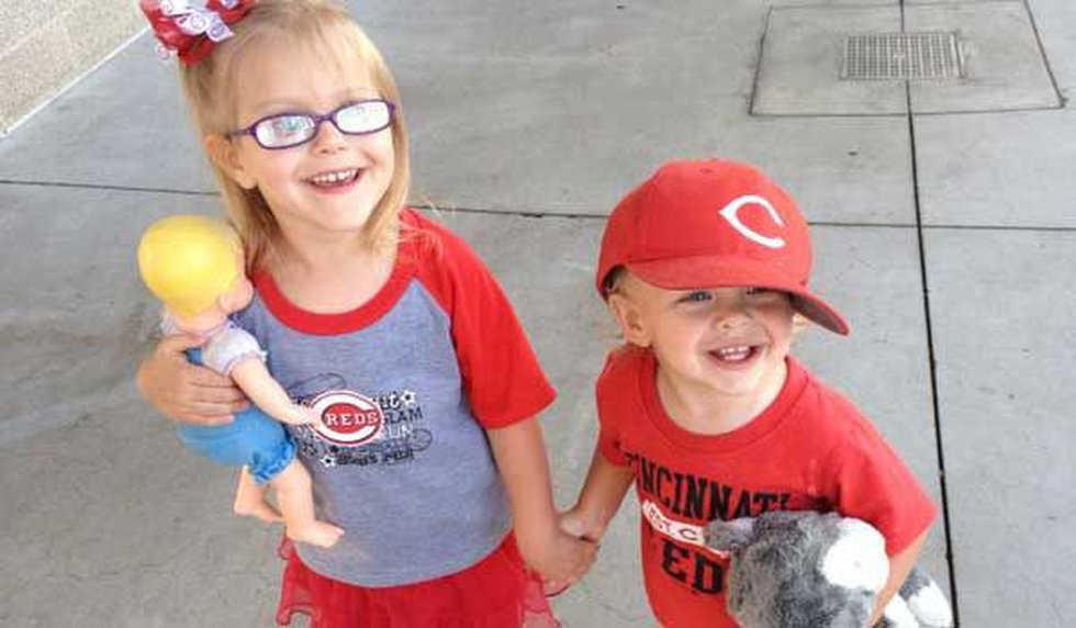 Ellie and Joey McKibben, children of FOX19's Paul McKibben and his wife Molly, enjoy a trip to...