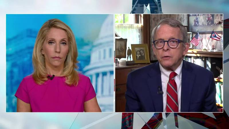"""Ohio Gov. Mike DeWine talks about the """"wake-up call"""" around his false positive COVID-19 test."""
