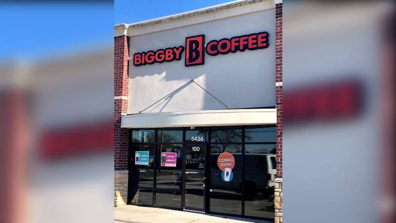 BIGGBY® COFFEE will open its new location in Montfort Heights on Oct. 27.