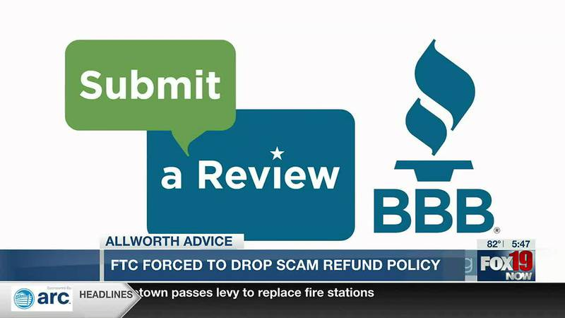 Allworth Advice: FTC forced to drop scam refund policy