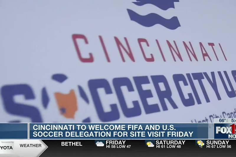 Cincinnati to welcome FIFA, US Soccer Delegation for visit Friday