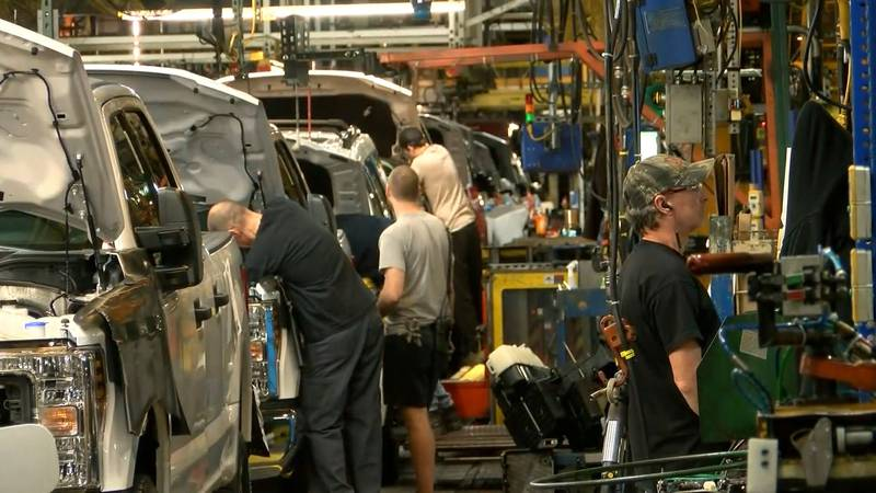 Workers face unemployment woes as Louisville Ford Assembly Plant shuts down until mid-July