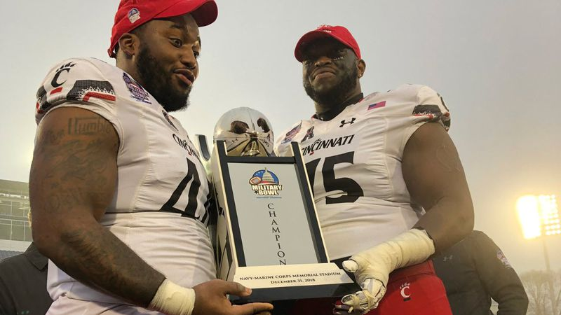 The University of Cincinnati's bowl drought is officially over. (WXIX)