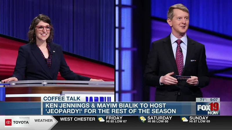 Coffee Talk: Co-hosts announced for 'Jeopardy!'
