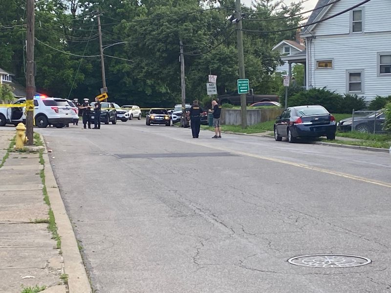 Police say officers responded to the scene around 6:15 p.m. Saturday.