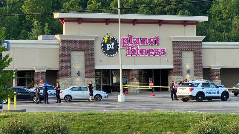 Newport Plaza was blocked off Sunday morning after Kenton County police confirmed there was a...