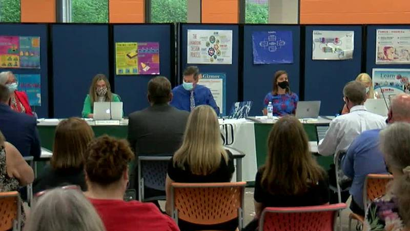 School board meeting gets headed while discussing diversity and inclusion