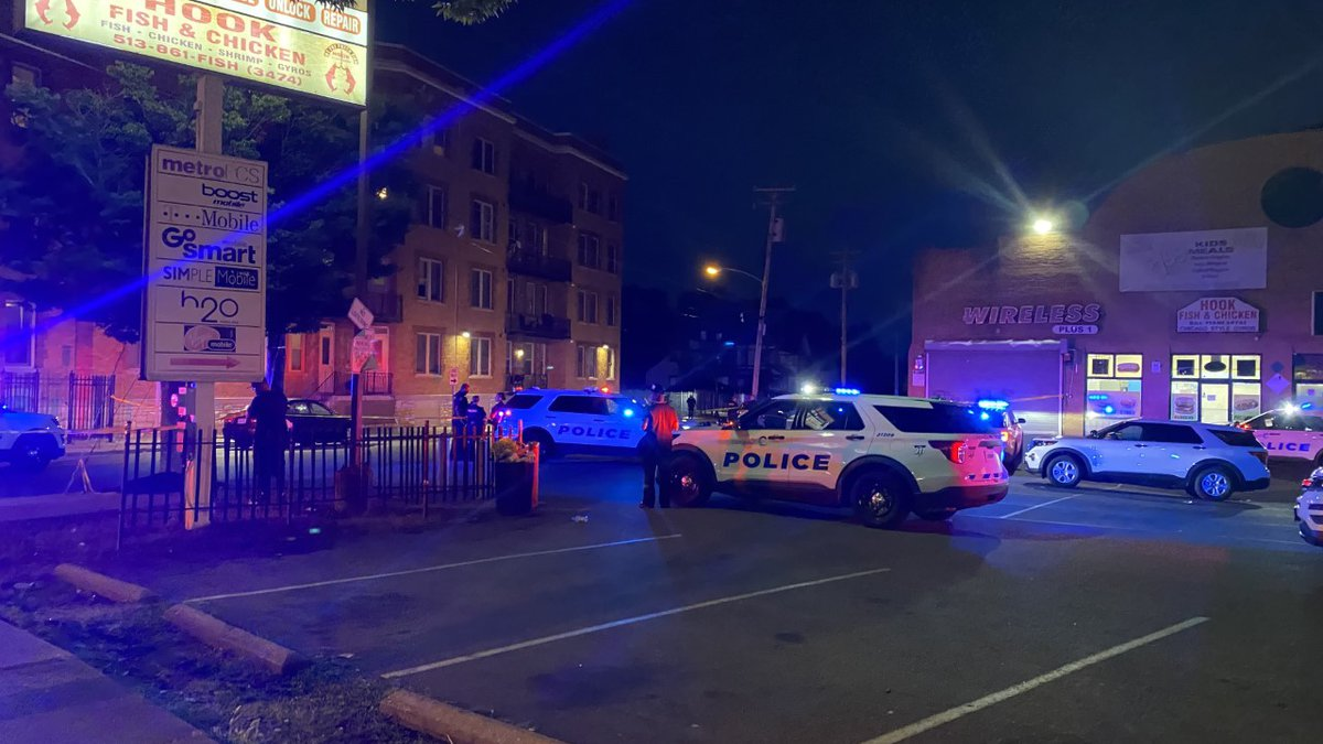 Police at the scene of a shooting in Avondale involving a 15-year-old victim.
