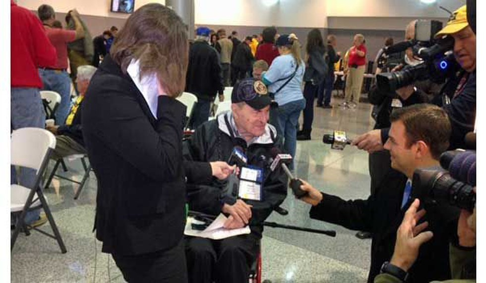 One of the 69 veterans on the flight was Dr. Henry Heimlich, widely credited as the inventor of...