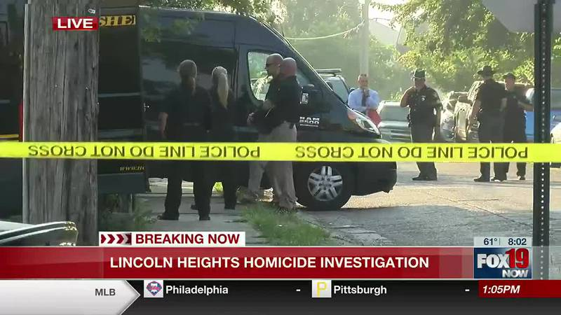 Hamilton County deputies investigate Lincoln Heights homicide