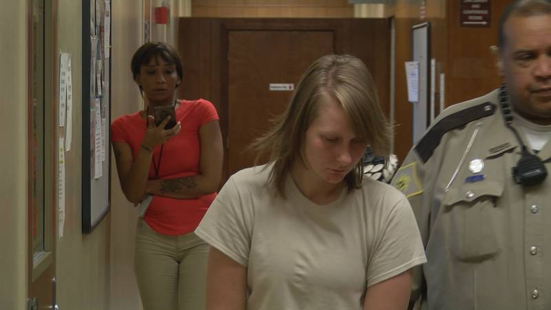 Kylie Jenks was sentenced to 20 years in prison in a deadly New Albany fire.