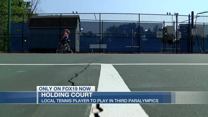 Local tennis player to play in third Paralympics