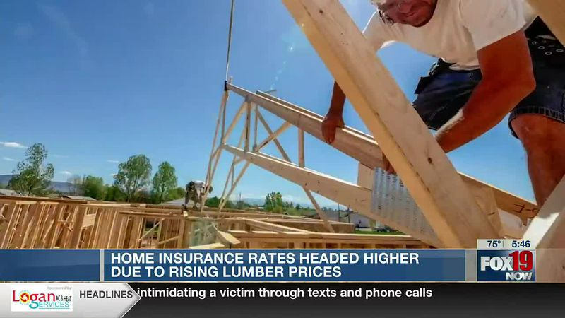 Allworth Advice: Home insurance rates headed higher due to rising lumber prices