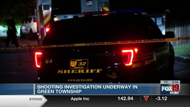 Green Township shooting sends 2 to hospital